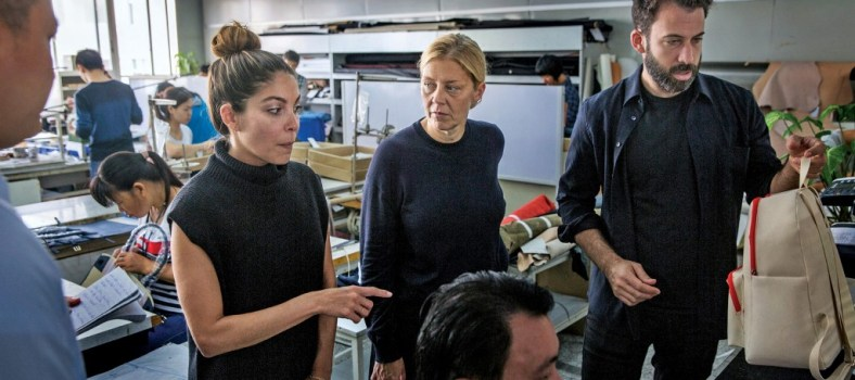 The Everlane design team in China|Photo courtesy: Bloomberg