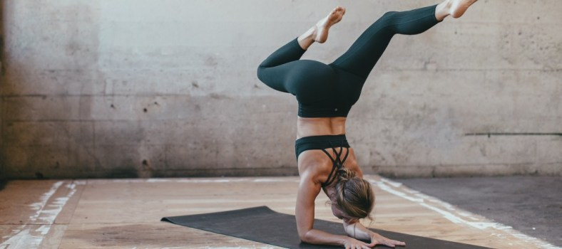 Striking a pose | Photo: Lululemon