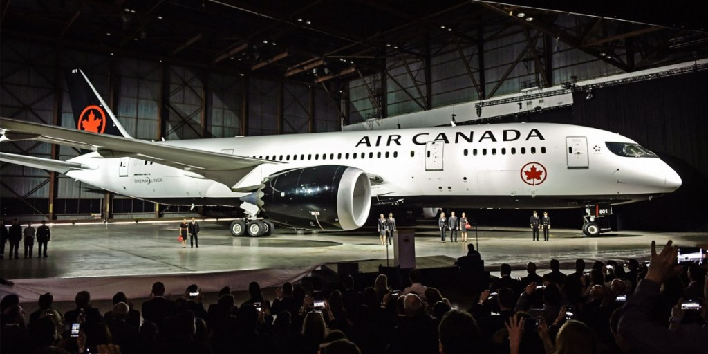 Air Canada, now properly kitted out | Howard Slutsken