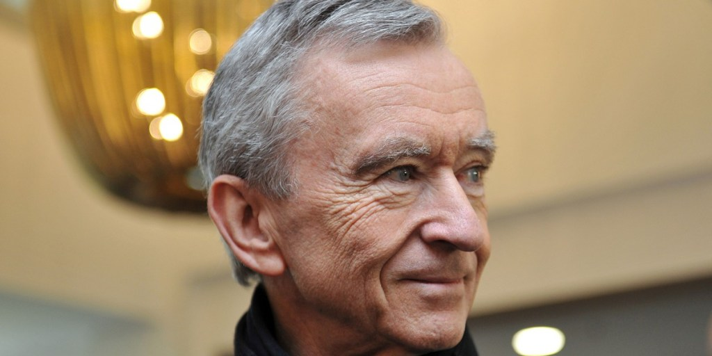 LVMH CEO Bernard Arnault, eyeing a couple of modern luxury brands | Guillaume Souvant/AFP/Getty Images