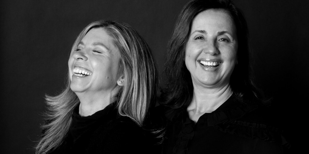 Bucket of laughs: Cheryl Kaplan, left, and Maria Gangemi, CMO | M.Gemi