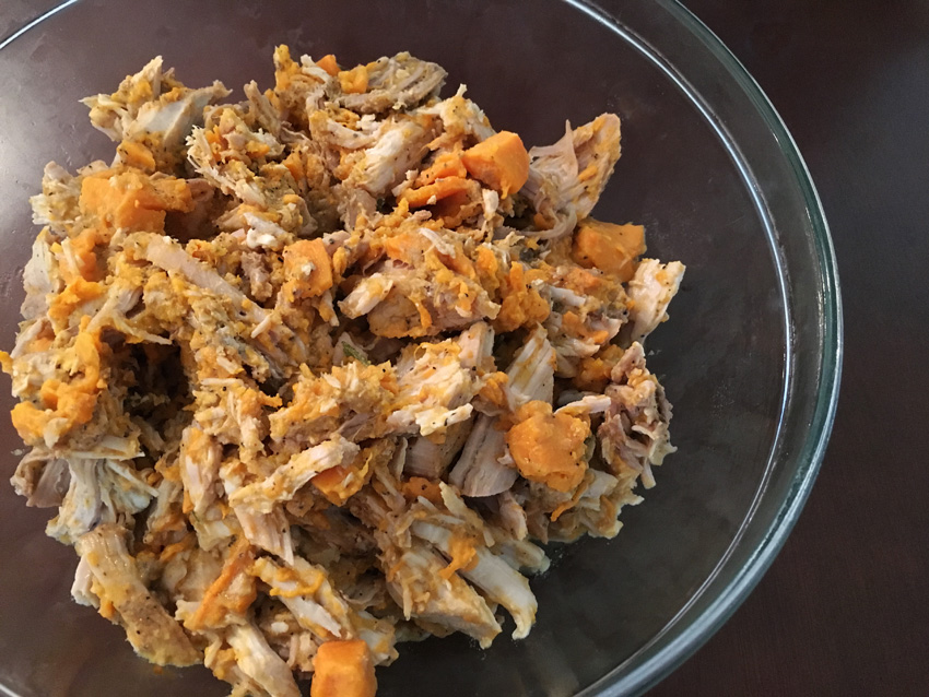 Slow Cooker Pork with Sweet Potato and Apple