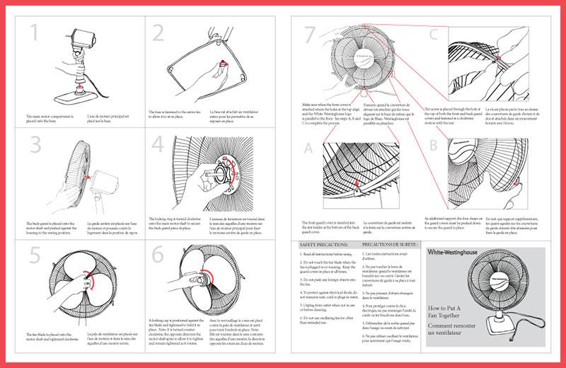 Oscillating Fan Instruction Manual - Leanne Kroll - instruction manual