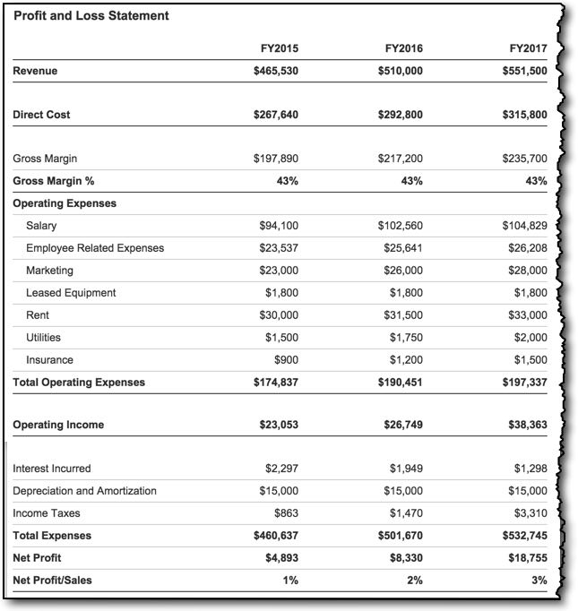 Profit and Loss (with LivePlan) Lean Business Planning