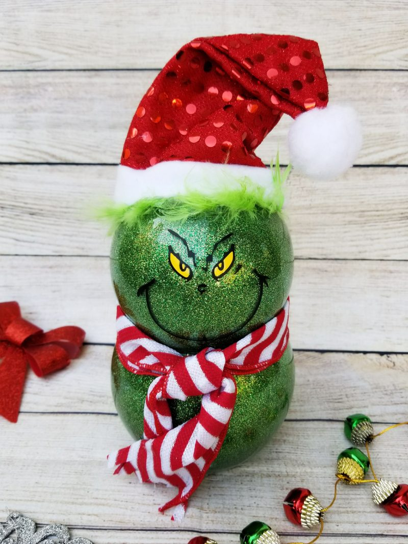 Grinch Decorations Cute And Using Dollar Store Supplies