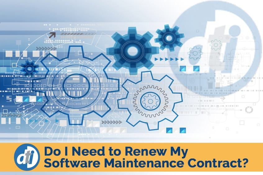 Do I Need to Renew My Software Maintenance Contract?