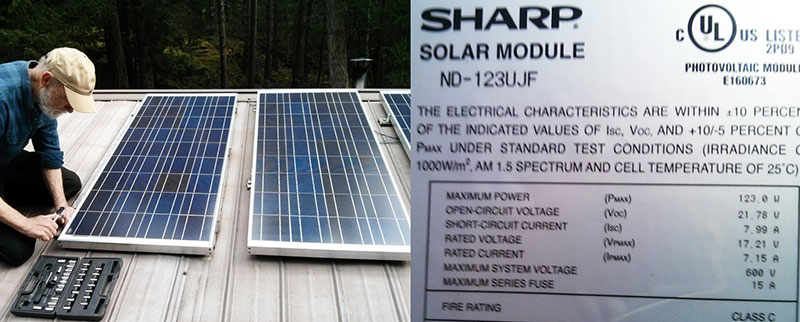 Our Simple DIY Home Solar Power System Eartheasy Guides  Articles