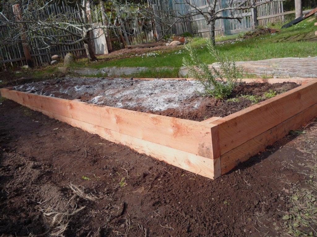 Using Railway Sleepers For Raised Vegetable Beds How To Build A Raised Garden Bed On Sloping Uneven Ground