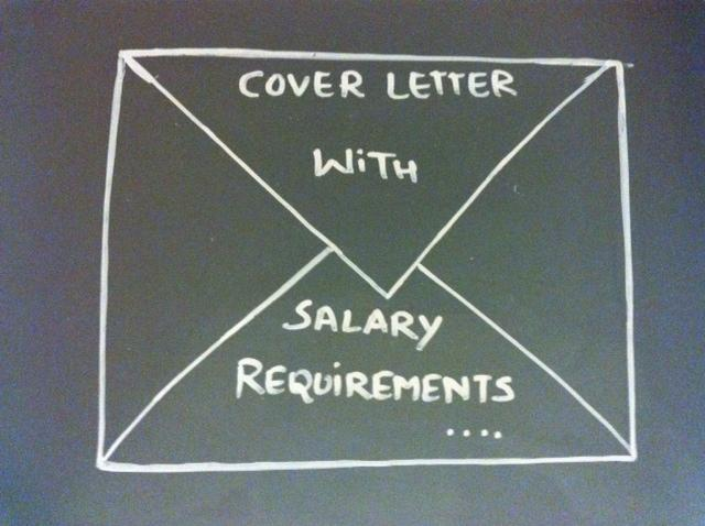 Cover Letter With Salary Requirements CoverLetter