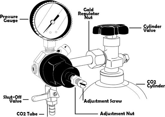 co2 regulator diagram