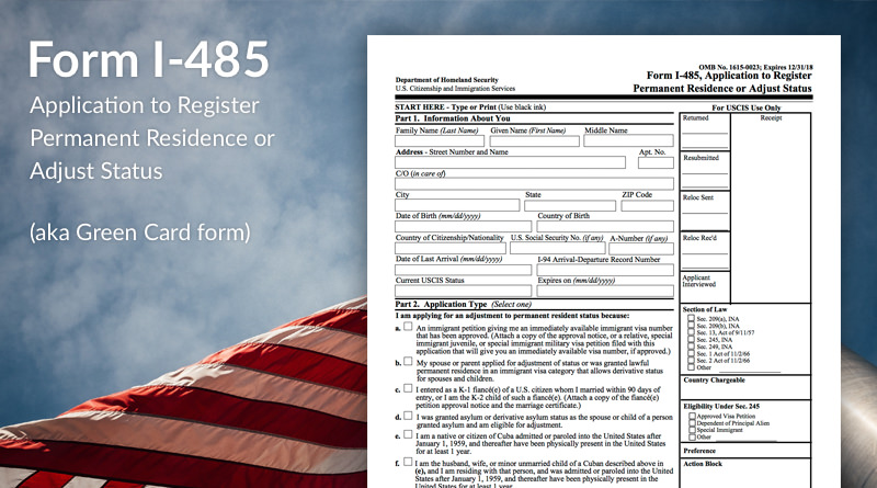 Who May File Form I-485? - Immigration Learning Center