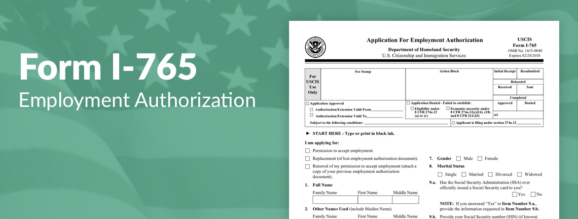 What is the USCIS Form I-765 Filing Fee? SimpleCitizen