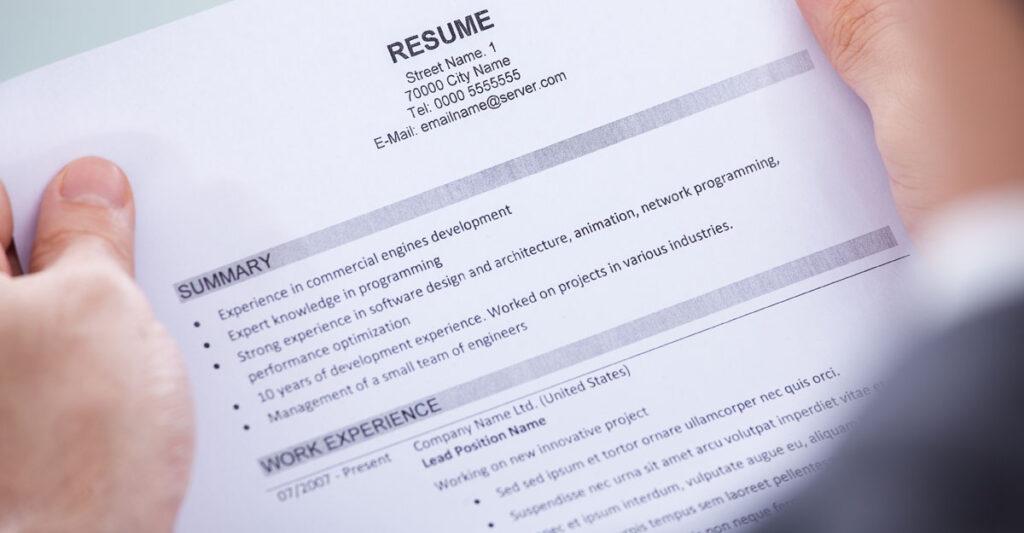 7 Ways to Improve your Resume UVM CDE