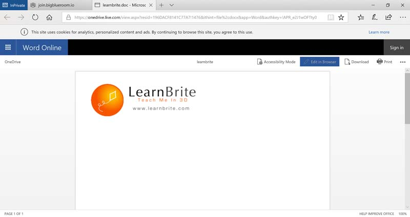 Microsoft Word 365 Online Integration Microsoft Office 365