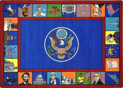 Symbols Of America Tm Classroom Rugs Elementary Learner