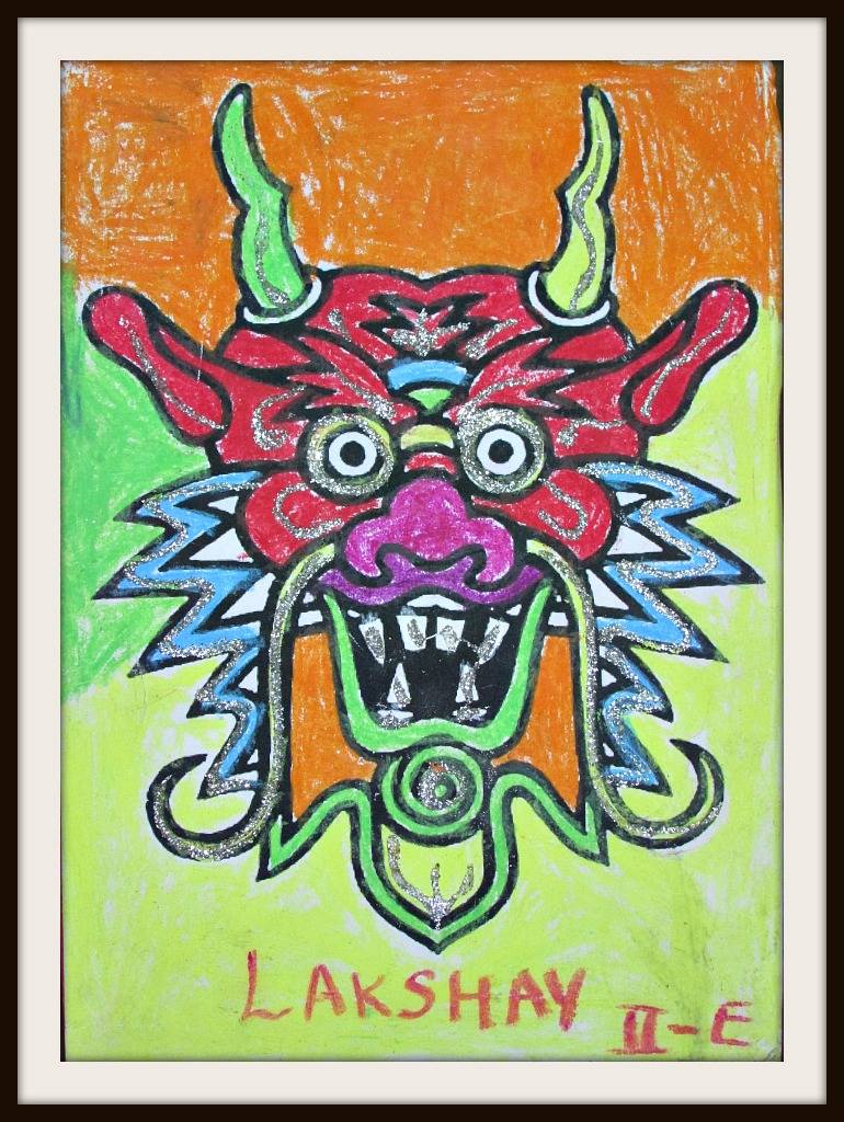 Demon King Paintings By Kids Learning And Creativity Silhouette