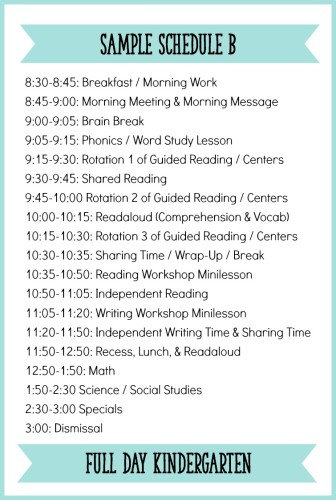 Fitting It All In How to Schedule a Balanced Literacy Block for