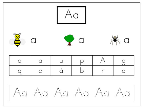How I Teach Beginning Phonics in Spanish - Learning at the Primary Pond - alphabet in spanish