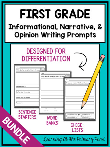 How To Differentiate Writing Instruction in K-2 - Learning at the