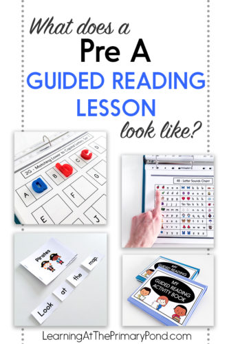 What does a Pre-A guided reading lesson look like? - Learning at the