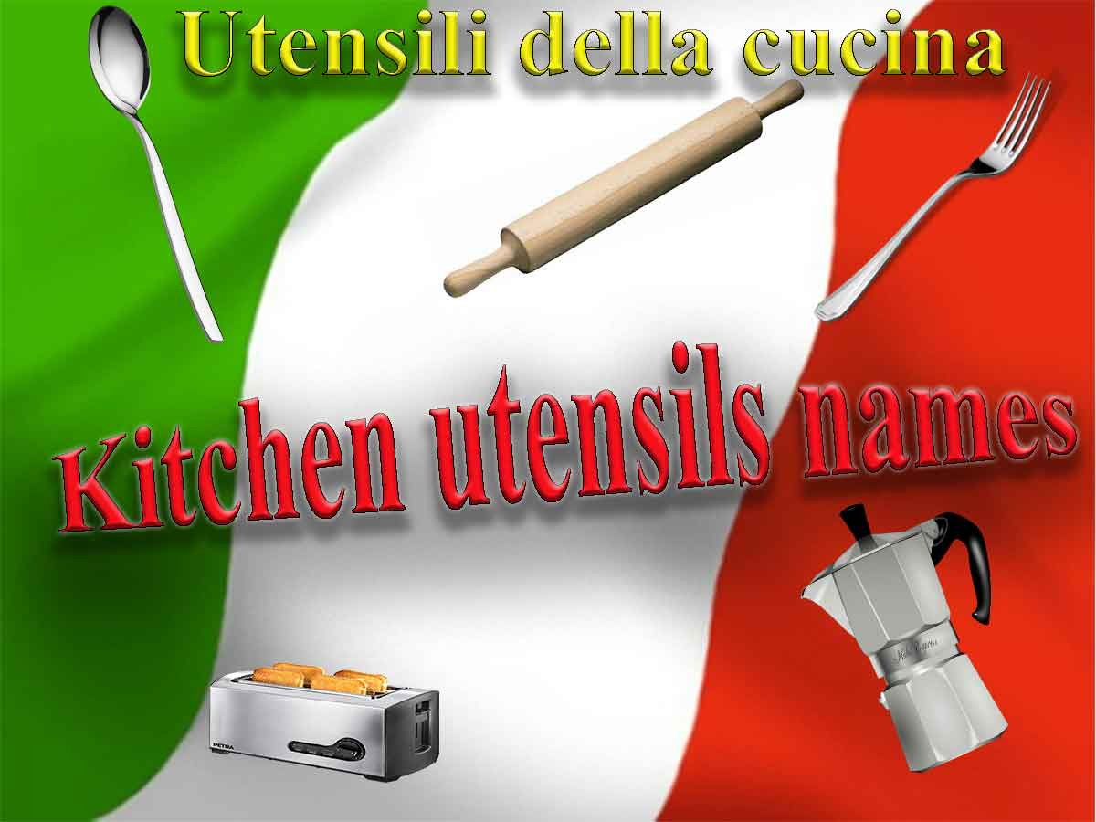 Cucina Kitchen Products Names Of Household Items In Italian Kitchen