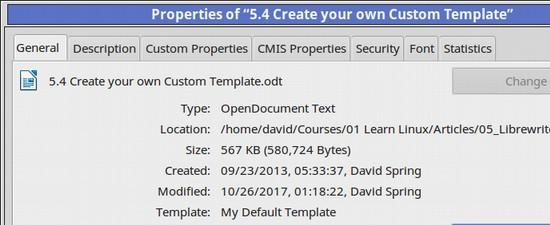 54 Create your own Custom Template