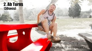 Body Weight Exercises Picnic Table Circuit Tapp