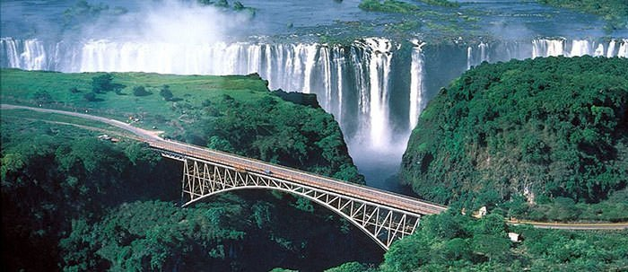 Iguazul Falls Wallpaper Victoria Falls 10 Facts About The Largest Waterfall
