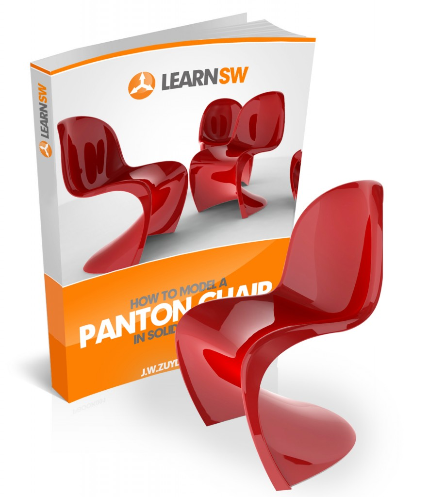 Pantone Chair Free Solidworks Panton Chair Ebook Learnsolidworks