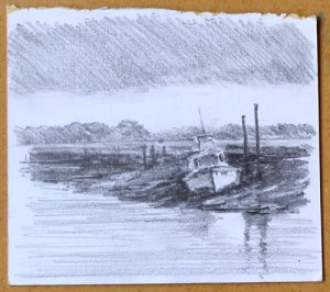 planning sketch of Thornham