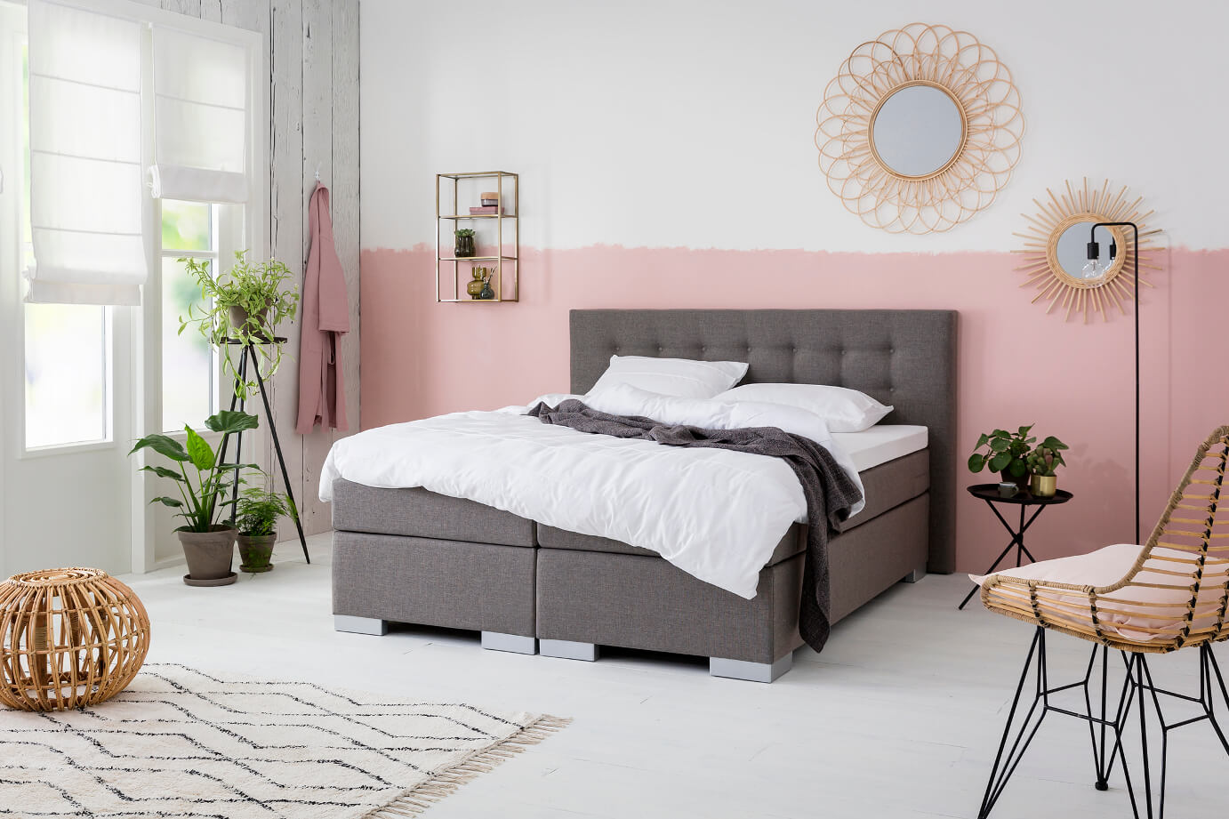 Boxspring Ikea 1 Persoons Boxspring Lease Bekend Van Tv Dekbed Discounter