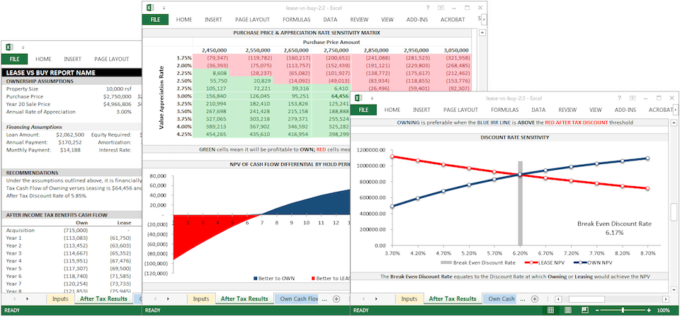 cash flow summary example