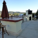 21' outdoor ktichen with LC Oven Designs gazebos pizza oven.