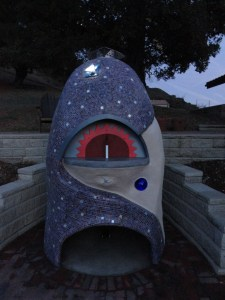 Astronomy Themed Outdoor Pizza Oven
