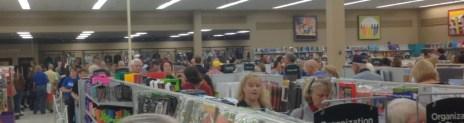 Mardel Books aisles 01