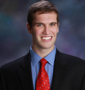State Senator Tyson Larson - itching for 18 yr-olds to serve in Unicam