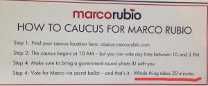 Rubio flyer in Kansas