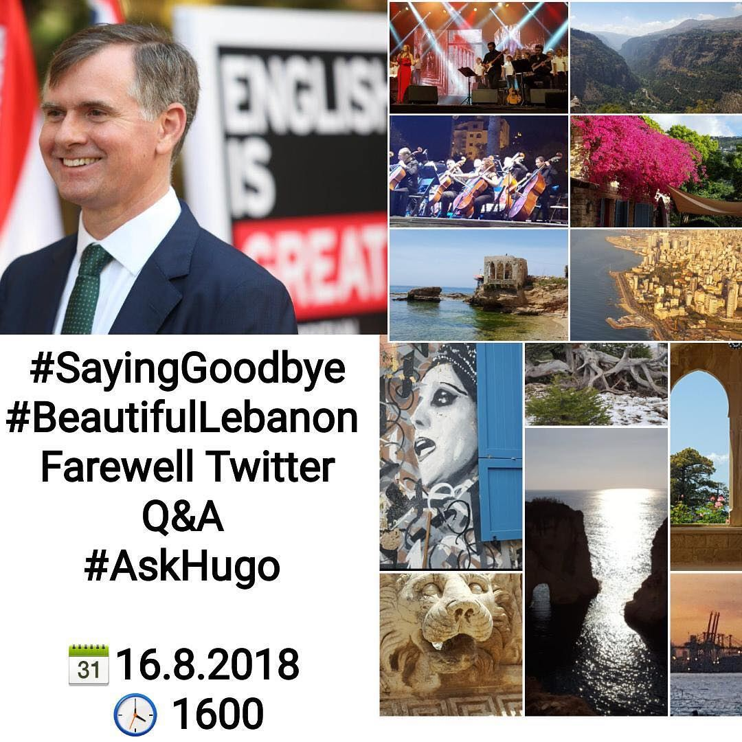 Mis Hogos Don T Miss The Final Farewell Twitter Q A With Ambassador Hugo