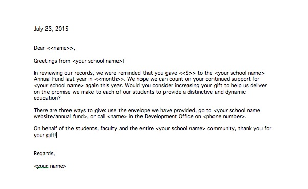 Example Independent School Appeal Letter - appeal letter