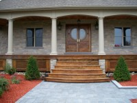 Wooden Front Porch Steps Designs   Joy Studio Design ...