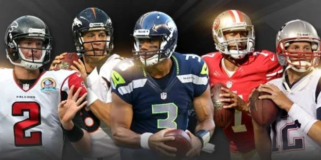 Ryan - Manning - Wilson - Kaepernick - Brady