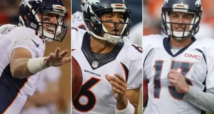 Qui sera le partant chez les Broncos? Lynch-Sanchez-Siemian