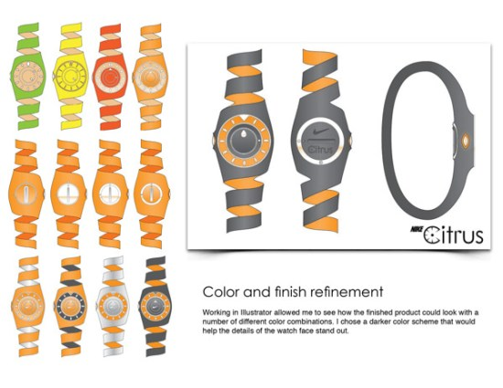 Meuble Chicago La Montre Nike Citrus By Jacob Rynkiewicz - Le Blog Des