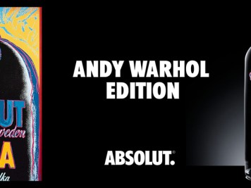 bouteille Absolut Vodka Andy Warhol