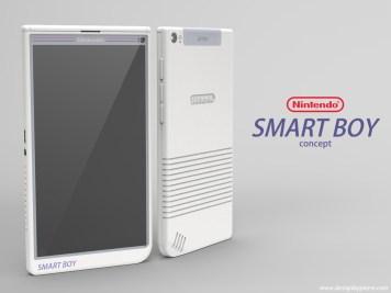 smart boy smartphone nintendo android