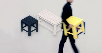 Flat-Pack meuble De-Dimension Jongha Choi