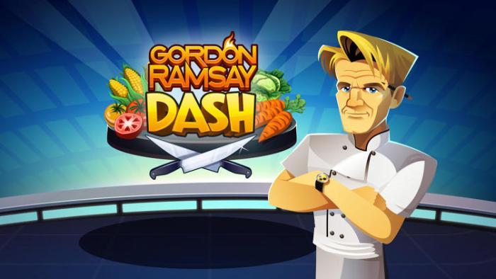Gordon ramsay dash le jeu mobile du c l bre chef anglais - Livre de cuisine gordon ramsay ...
