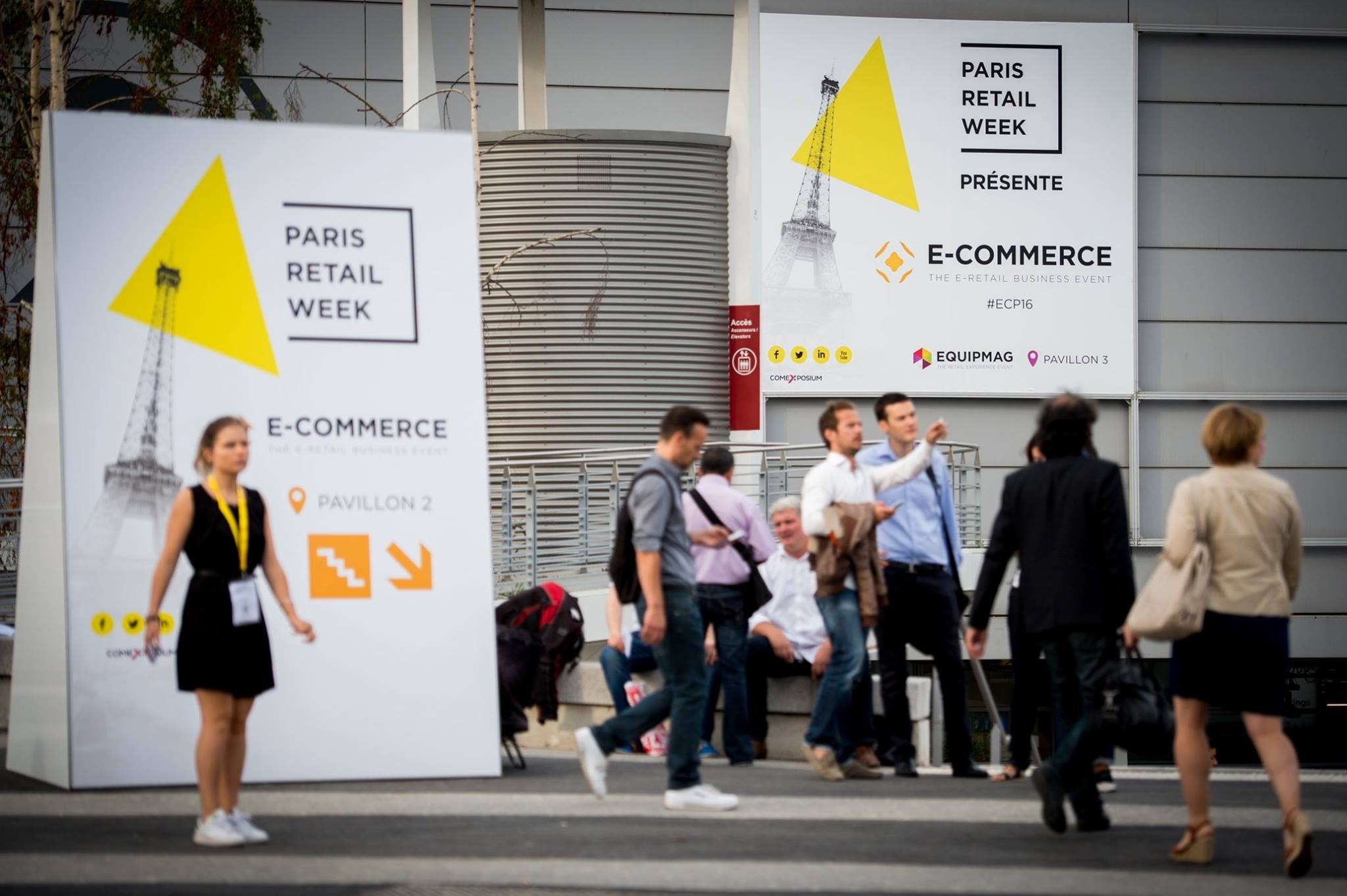 Le Salon E Commerce Paris Du 12 Au 16 Septembre 2016 Le - Salon Paris Septembre 2016