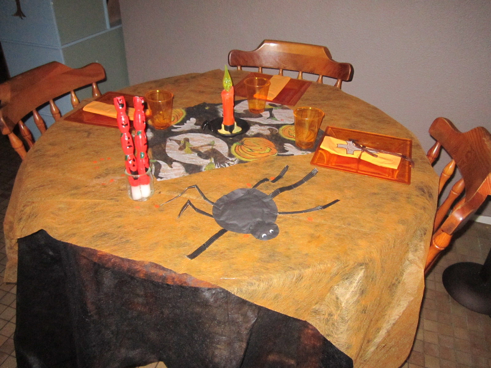 Decoration De Table Pour Halloween Décoration De Table Pour Halloween 1
