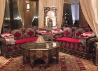 Moroccan Salon - AlBourad Luxury Moroccan living room